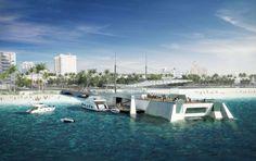 Concurso Pier Miami Beach Projeto Lopes Dias Imagem PVID