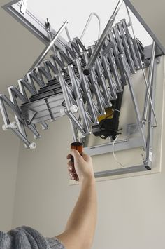 ... Charming Pictures Of Various Loft Ladder For Home Interior Design And Decoration Ideas : Entrancing Picture ...