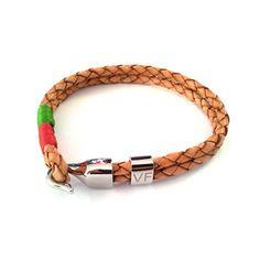 Leather Bracelet Crème, 50€, by Vista-Fashionista !!