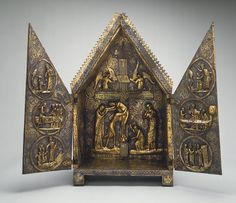 tabernacolo di cherves | Tabernacolo di Cherves - Francia XIII secolo - Metropolitan Museum NY
