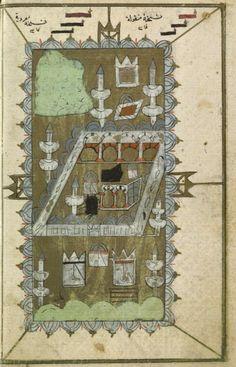 Kaaba-Kabe Mekkah, Madina, Sufi, Illuminated Manuscript, Islamic Art, Knights, Tile, Bohemian Rug, Paintings