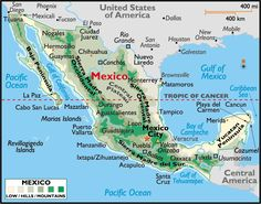 awesome Map of Mexico