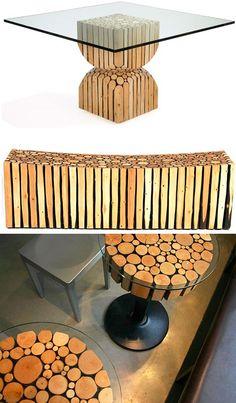 Redefining Rustic Materials: 6 Modern Log Furniture Makers | WebUrbanist (Page 2)