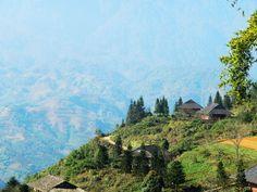 Traveling in northern Vietnam. Muong Hoa valley - Hoang Lien. www.north-vietnam.com... #vietnam #trekking #travel #wander #valley #mountains