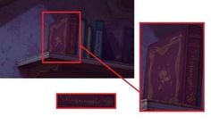 A copy of Rapunzel sits on the shelf in Charlotte's room in The Princess and the Frog, in reference to Tangled being Disney's next movie.