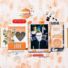 Hello @marinette_scrap here with you to share a new layout using #october2015…