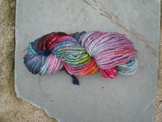 Handspun Yarn 3 Ply in BRIGHTS by GardnerStreet on Etsy