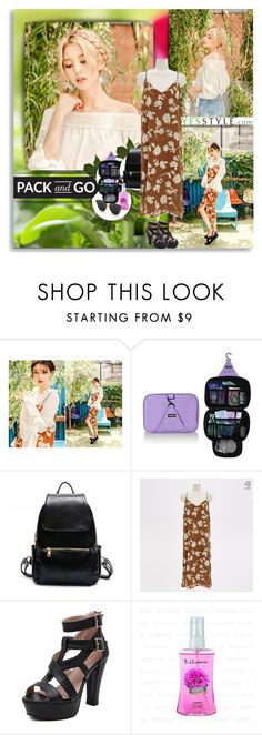 """Pack and Go with YesStyle!"" by vidutoria ❤ liked on Polyvore"