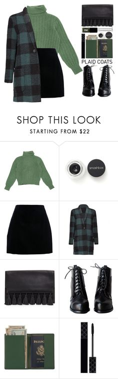 """Plaid Coat!"" by blueberrylexie ❤ liked on Polyvore featuring Yves Saint Laurent, Smashbox, BB Dakota, Rebecca Minkoff, Royce Leather, Gucci and JINsoon"
