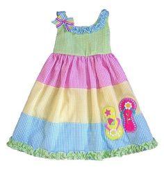 Frocks For Girls, Kids Frocks, Toddler Girl Dresses, Baby Girl Dress Patterns, Baby Girl Dress Design, Kids Dress Wear, Baby Frocks Designs, Seersucker Dress, Little Girl Dresses