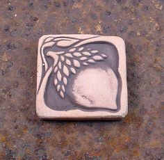 Acorn Decorative Wall Tile by earthenwoodceramics on Etsy, $12.00