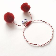 Baba Marta, Rakhi, Handmade Accessories, Friendship Bracelets, Diy And Crafts, Projects To Try, Jewelry Design, March, Earrings