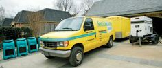 Amazing servicemaster restoration van, restoration services, commercial  and residential restoration for fire, flood and water disaster damage
