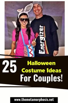 Halloween is one of the most popular and fun holidays of the year! You're probably planning to go a Halloween party this year so why not go with your favorite person? If you have no clue what couples costume you can wear this year don't worry, in this post we're going to show you over 25 trendy Halloween costumes for couples. Scary Couples Halloween Costumes, Popular Halloween Costumes, Trendy Halloween, Costumes For Women, Halloween Party, College Couples, Cosplay Dress, Funny Couples, Favorite Person