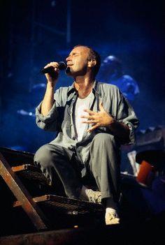 Singer Phil Collins in Concert July 4, 1994