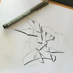 "causeturk: """"Y"" letter practice #causeturk #stilbaz #balcans #abk #letter #sketch #sunday #font #style #graffiti #graffart #instagraff #blackbook #art #drawing #bursa #bursasanat #turkey """