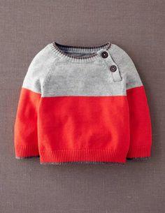 Essential Colourblock Sweater