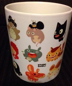 Studio Ghibli My Neighbor Totoro Mug Cup White Coffee Tea Cup gift All Character
