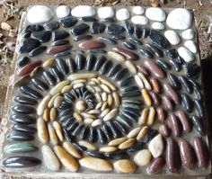 Pebble Mosaics by Victoria Mowrer