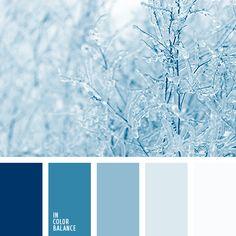 """""""пыльный"""" синий, лазурный, монохромная синяя цветовая палитра, монохромная цветовая палитра, небесный, оттенки синего, пастельный синий, подбор цвета, светло-синий, серебристо-голубой, серо-голубой, темно-синий, холодные оттенки синего,"""