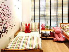 RSDS Architects - Singapore interior design renovation - colorful kids bedroom