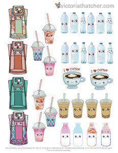 10+ Pretty Planner Printables   www.dawnnicoledesigns.com