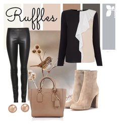 """""""Ruffles #2"""" by traceyv63 on Polyvore featuring The Row, Oasis, Gianvito Rossi, Michael Kors, Bloomingdale's and ruffles"""