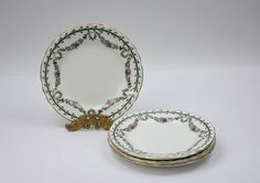 Antique Aynsley Side Plates /www.PeriodElegance.etsy.com