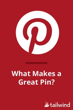 What Makes A Great Pin?