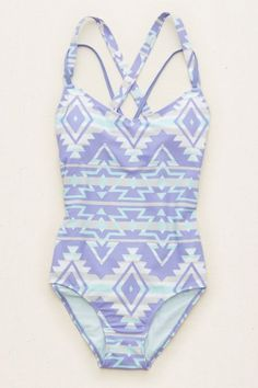 Happily single? Suit yourself!  Shop the Aerie One-Piece Swimsuit from Aerie for…
