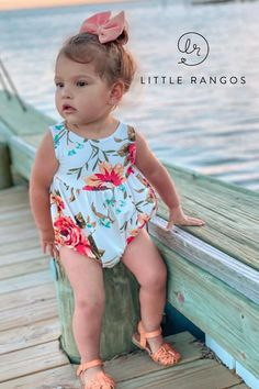 Unique Baby Clothes, Handmade Clothes, Handmade Items, Kids Boutique, Boutique Clothing, Surf Girls, Kids Girls, Baby Girl Fashion, Kids Fashion