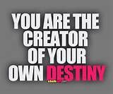 We have a choice to create our new destiny and new path of we believe