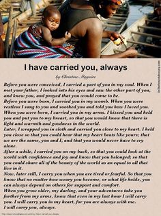 I have carried you always (poem) - Single Mothers Quotes - Ideas of Single Mothers Quotes - I have carried you always single mother quotes motherhood quotes poem about mother When I Met You, I Meet You, Gentle Parenting, Kids And Parenting, Peaceful Parenting, Unconditional Parenting, Mindful Parenting, Parenting Styles, Parenting Ideas