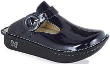 Lydia's Uniforms- Alegria Professional Donna Shoe in Indigo Patent Dental Scrubs, Tap Shoes, Dance Shoes, Uniform Advantage, Medical Uniforms, Dental Assistant, Exclusive Collection, Nursing, Clogs