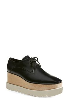 Stella McCartney Platform Oxford (Women) | Nordstrom