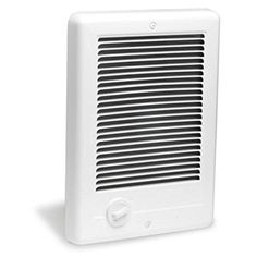 Cadet CSC102TW Com-Pak 1000-Watt, 240V complete wall heater with thermostat, white