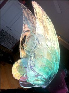Tutorial for fairy wings using wire & Fantasy Film. Very cool!