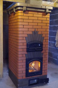 Камино-печь Kitchen Arrangement, Brick Bbq, Pizza Oven Outdoor, Stove Oven, Stove Fireplace, Rocket Stoves, Brickwork, Cabins In The Woods, Bbq Grill