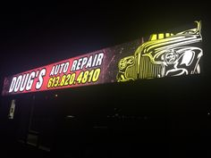 #Backlit and BEAUTIFUL! Dynamic #storefront #signage!