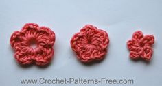 Small Crochet Flower Patterns (Free Crochet Patterns)       These little tiny 5 petal crochet flowers are perfect for adding a little something special to what your making. They are also surprisingly easy to make. I love creating a few of these and finishing off my projects with them.  Great for adding to headbands or hair slides, or whatever you like.      The flowers are each made a little differently, and using a different starting technique can change its appearance.  You will need to…