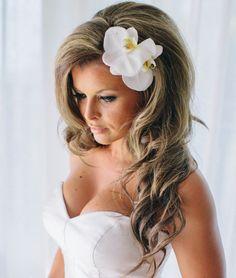 Brautschleier offene haare  Brautfrisur für kurze Haare | wedding | Pinterest | Kurze haare ...