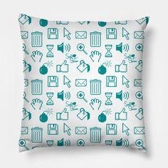 Computer Icon - Computers - Pillow | TeePublic