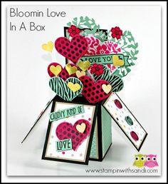Stampin Bloomin Love In a Box by Sandi @ www.stampinwithsandi.com
