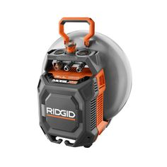 Own It! RIDGID 6 gal. Portable Vertical Pancake Air Compressor-OF60150HV - The Home Depot