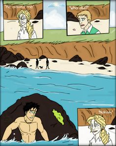 I have said it before, and I'll say it again. MERMAID PERCY IS THE GREATEST THING THIS FANDOM HAS EVER COME UP WITH.