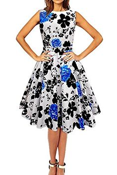 party rockabilly evening dress