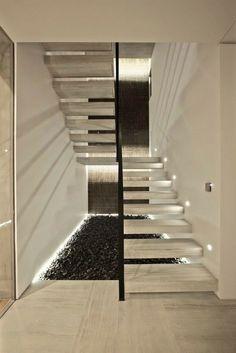 Exceptional Staircase Lighting Ideas, Staircase Design, Stair Storage, Decor Interior  Design, Interior Lighting