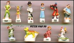 peter-pan disney porcelain french feves