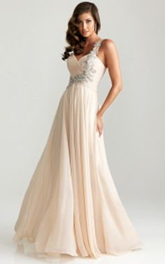 ivory prom dresses | One Sequin Strap 6679 Night Moves Ivory Prom Dress 2013