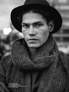 Berlin-Bound–Captured in a fall/winter 2012 wardrobe of black garments, Sam Way heads to Berlin for his latest spread. Burning Man Outfits, Raw Beauty, Most Beautiful Faces, Ss 15, Model Agency, Male Models, Gentleman, It Cast, Handsome